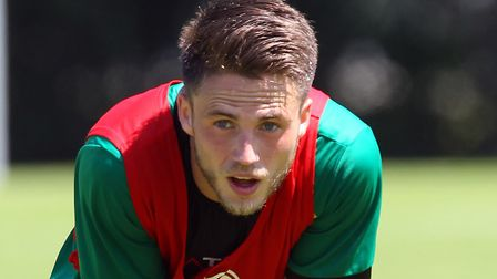 Ricky van Wolfswinkel is staying positive after a season unlike any other for the former Norwich Cit