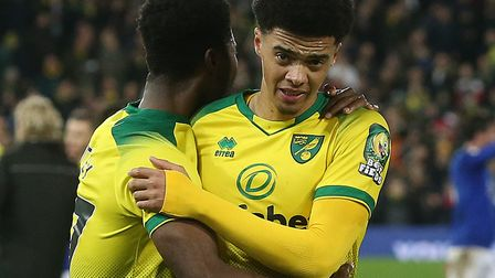 Jamal Lewis is putting his time to good use during Norwich City's lockdown Picture: Paul Chesterton/