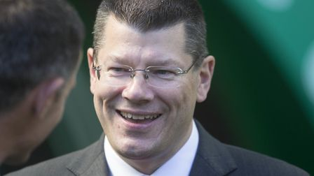 Former Norwich City chief executive Neil Doncaster Picture; PA