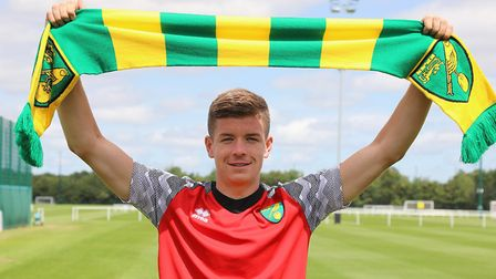Gilmour joined the Canaries last summer. Picture: Norwich City FC