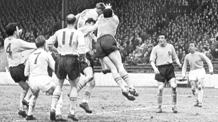 Norwich City claimed a cup scalp at Manchester City in 1963. Picture: Archant