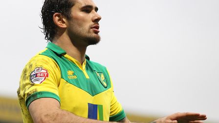 Bradley Johnson injected dynamism and drive into Norwich City's midfield Picture: Paul Chesterton/Fo