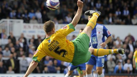 Michael Nelson is remembered fondly by Norwich City supporters. Picture: Jed Wee/Focus Images