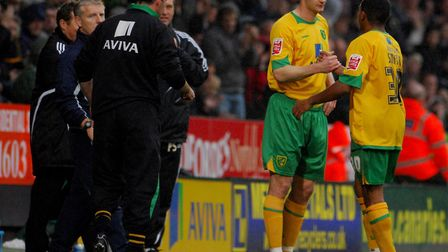 Nelson left City for Scunthorpe United in 2011. Picture: Nick Butcher/Archant