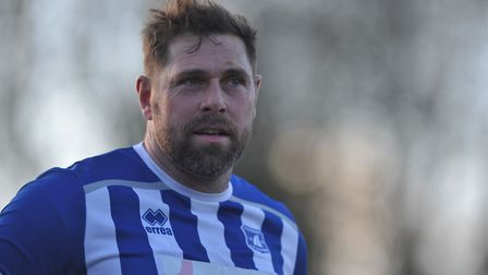 Grant Holt - still going strong for Wroxham Picture: Tony Thrussell