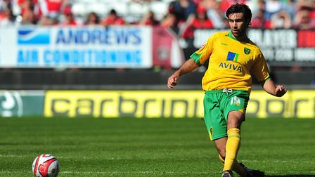 Canaries midfielder Simon Lappin Picture: Alex Broadway/Focus Images Ltd