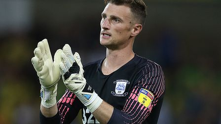 Former Norwich City goalkeeper Declan Rudd has signed a new contract with Preston Picture: Paul Ches