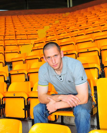 Norwich City new signing Andrew Croftspicture by Adrian Juddfor EDP