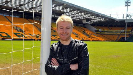 new Norwich City signing Steven Smith; picture by Adrian Judd