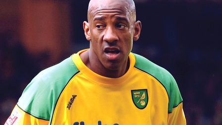 Luke Chadwick was a major fan of Dion Dublin long before they played together at Norwich Picture: St