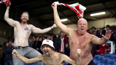 Sunderland fans - how big are they? Picture: PA