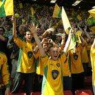 Norwich City fans at Vicarage Road in April, 2004 Picture: Archant