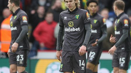 Norwich City's last match before the Premier League shutdown was a 1-0 defeat at Sheffield United on