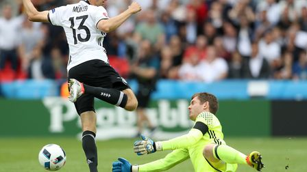 Norwich City's Northern Ireland goalkeeper Michael McGovern impressed during Euro 2016, the high poi