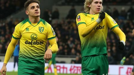 Todd Cantwell and Max Aarons are rated as the most saleable assets in the Norwich City squad Picture