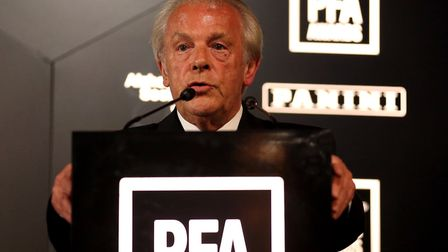 Chief eExecutive of the PFA Gordon Taylor - the man with a 'plan' Picture: PA