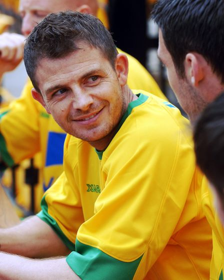 Jamie Cureton at a commercial event at Carrow Road Picture: Archant