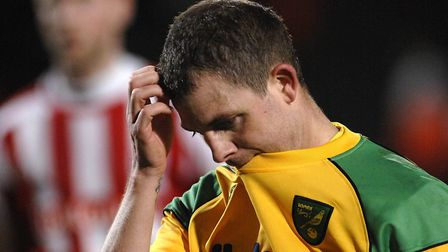 Frustration at Carrow Road for Jamie Cureton Picture: Archant