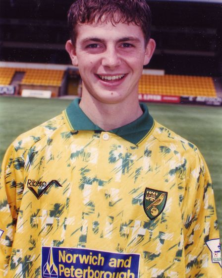 Jamie Cureton in August, 1993 Picture: Archant