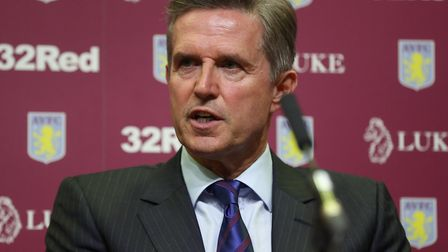 Aston Villa's chief executive Christian Purslow Picture: Mike Egerton/PA Wire