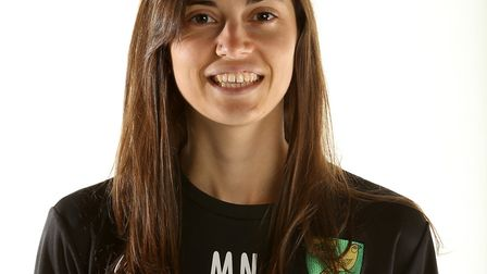 Mariela Nisotaki, domestic and European lead scout at Norwich City, pictured with the Championship t