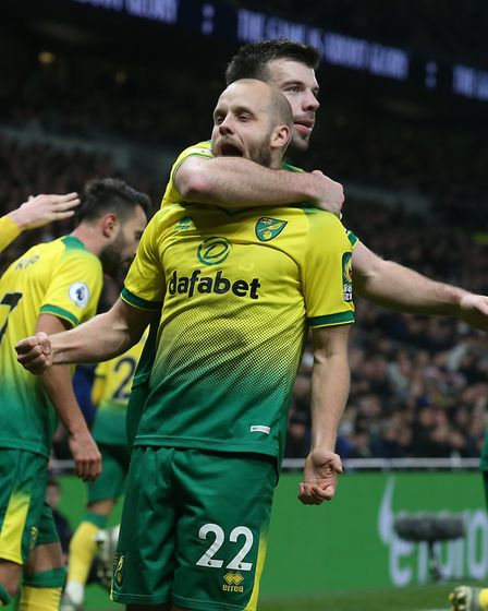 Teemu Pukki - most fans thought he'd scored 11-15 goals. So far he has scored 11 Picture: Paul Chest