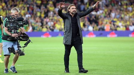Guess no one thought head coach Daniel Farke would mastermind a win over Manchester City either ...