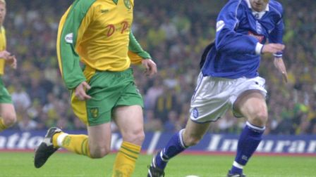 Norwich winger Mark Rivers on the ball Picture: Archant