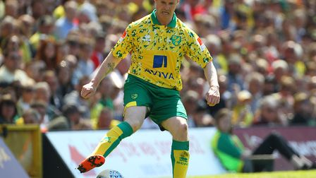 Phil Mulryne returned to play at Carrow Road in 2018 as a City Legends team took on Inter Forever in