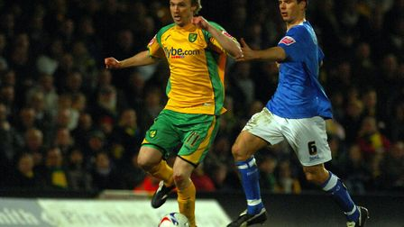 Luke Chadwick, during his time at Norwich City Picture: Archant