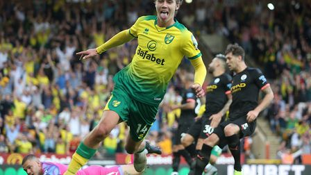 England U21 midfielder Todd Cantwell has scored six goals in the Premier League for the Canaries so