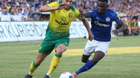 Philip Heise, in pre-season action against Schalke during pre-season last year, could be back in com