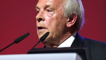 Chief executive of the PFA, Gordon Taylor - a man with some curious ideas Picture: PA