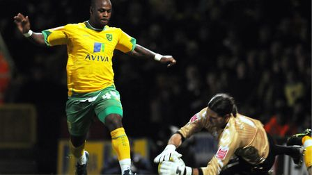 Leroy Lita had a successful loan spell at Norwich City Picture: Archant