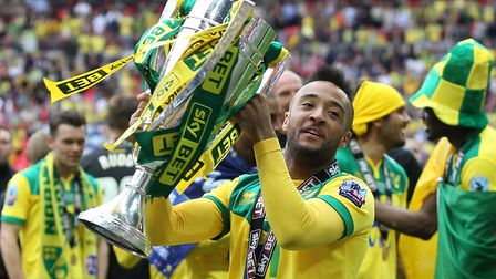 Nathan Redmond with the spoils of victory Picture: Paul Chesterton/Focus Images Ltd