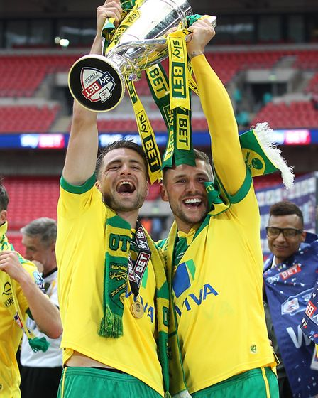 Russell Martin, left, and Gary Hooper Picture: Paul Chesterton/Focus Images Ltd