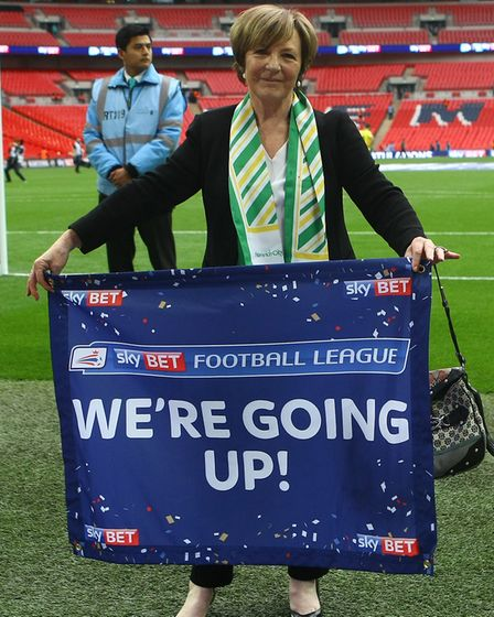 No flagging from Delia Smith Picture: Paul Chesterton/Focus Images Ltd