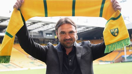 Daniel Farke was unveiled as Norwich City's head coach at Carrow Road on May 25, 2017 Picture: Denis