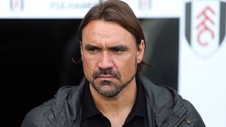 Daniel Farke's first match as Norwich City head coach was a 1-1 draw at Fulham in the Championship P