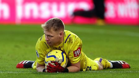 Bournemouth goalkeeper Aaron Ramsdale - tested positive for coronavirus Picture: PA