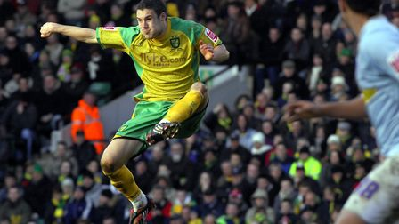 Jason Shackell during his time with Norwich City Picture: Archant