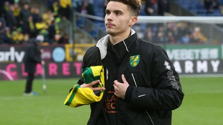 Young midfielder Josh Martin - an unused substitute during Norwich City's FA Cup fourth round win at