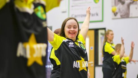 The Community Sports Foundation at work Picture: NCFC