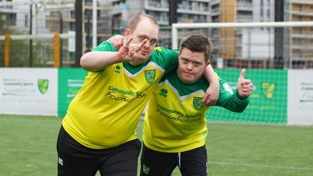 Loving the work of the Community Sports Foundation Picture: NCFC