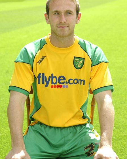 Ryan Jarvis in his Norwich City days Picture: Archant