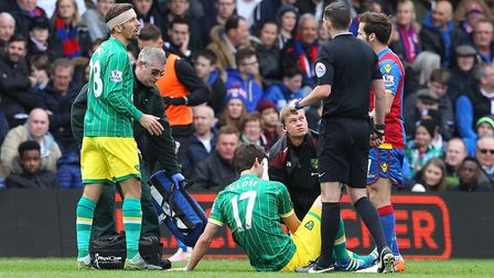 Timm Klose's injury against Crystal Palace was a pivotal moment in Alex Neil's City side's quest for