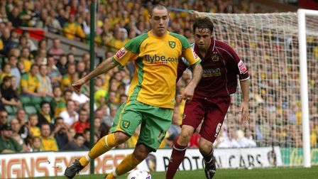 Andy Hughes in action during his time at Norwich Picture: Archant