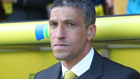 Former Norwich City manager Chris Hughton Picture: Paul Chesterton/Focus Images