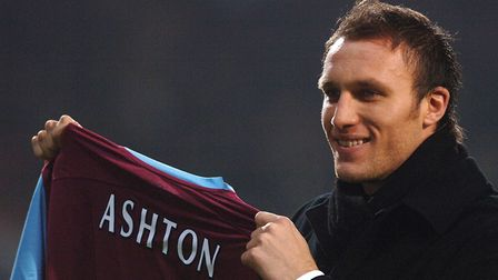 Dean Ashton was unveiled as a West Ham United player after signing from City. Picture: Sean Dempsey/