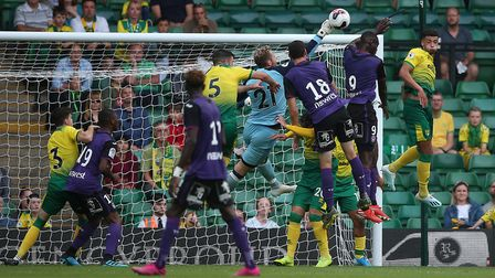 City faced French side Toulouse at in a Carrow Road friendly last summer. Picture: Paul Chesterton/F